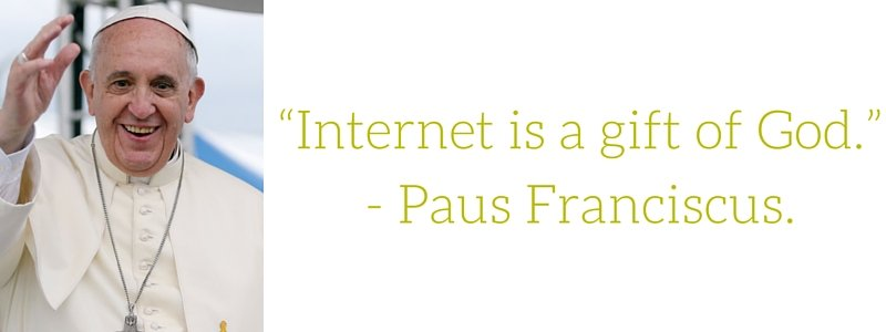paus-franciscus-internet-is-a-gift-of-god